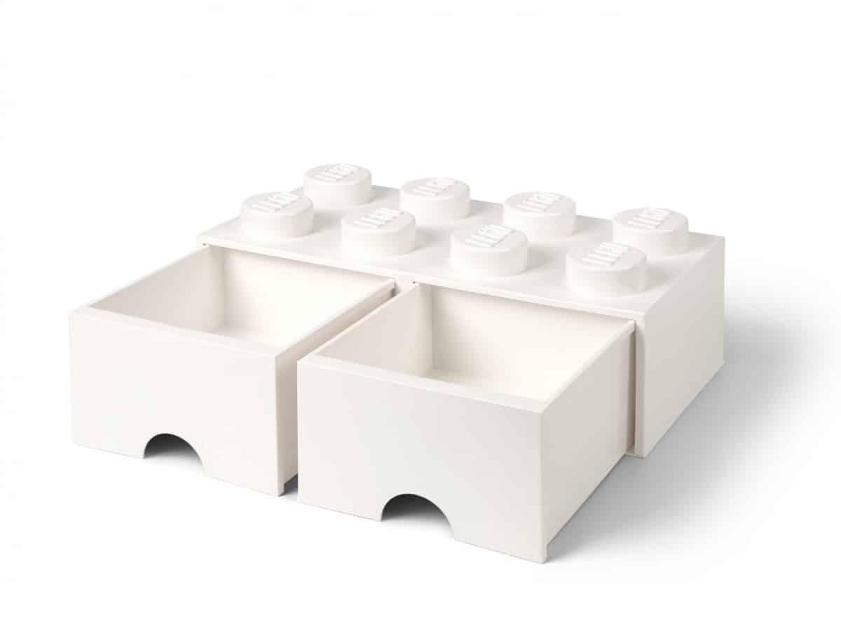 brique blanche de rangement lego 5006209 a tiroir 8 tenons scaled