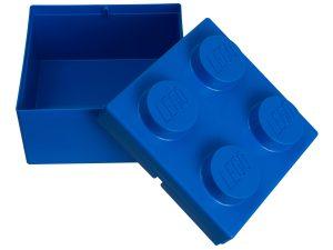 brique de rangement lego 853235 2x2 bleue