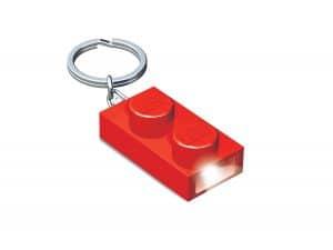 brique porte cles lumineuse 1x2 lego 5004264 rouge