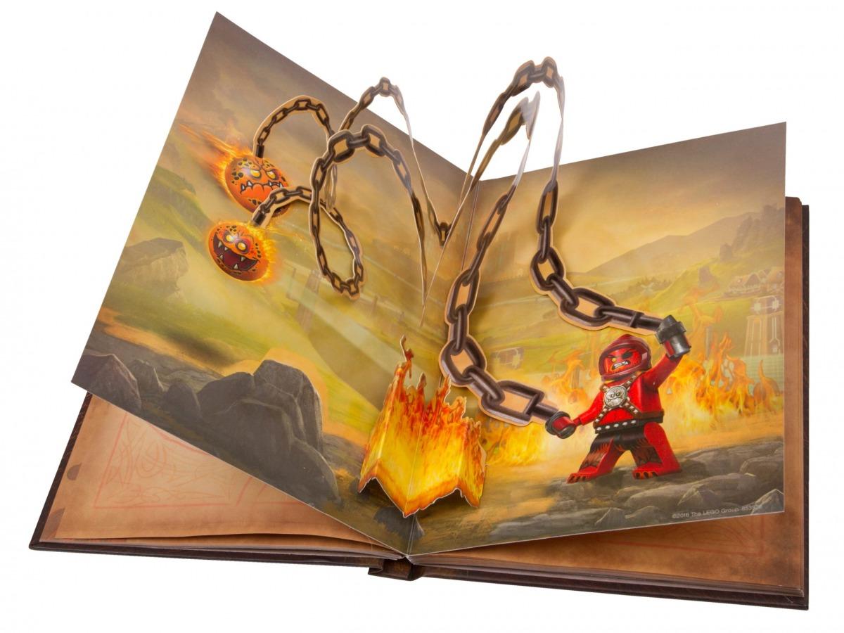 carnet de croquis des monstres lego 853528 nexo knights scaled
