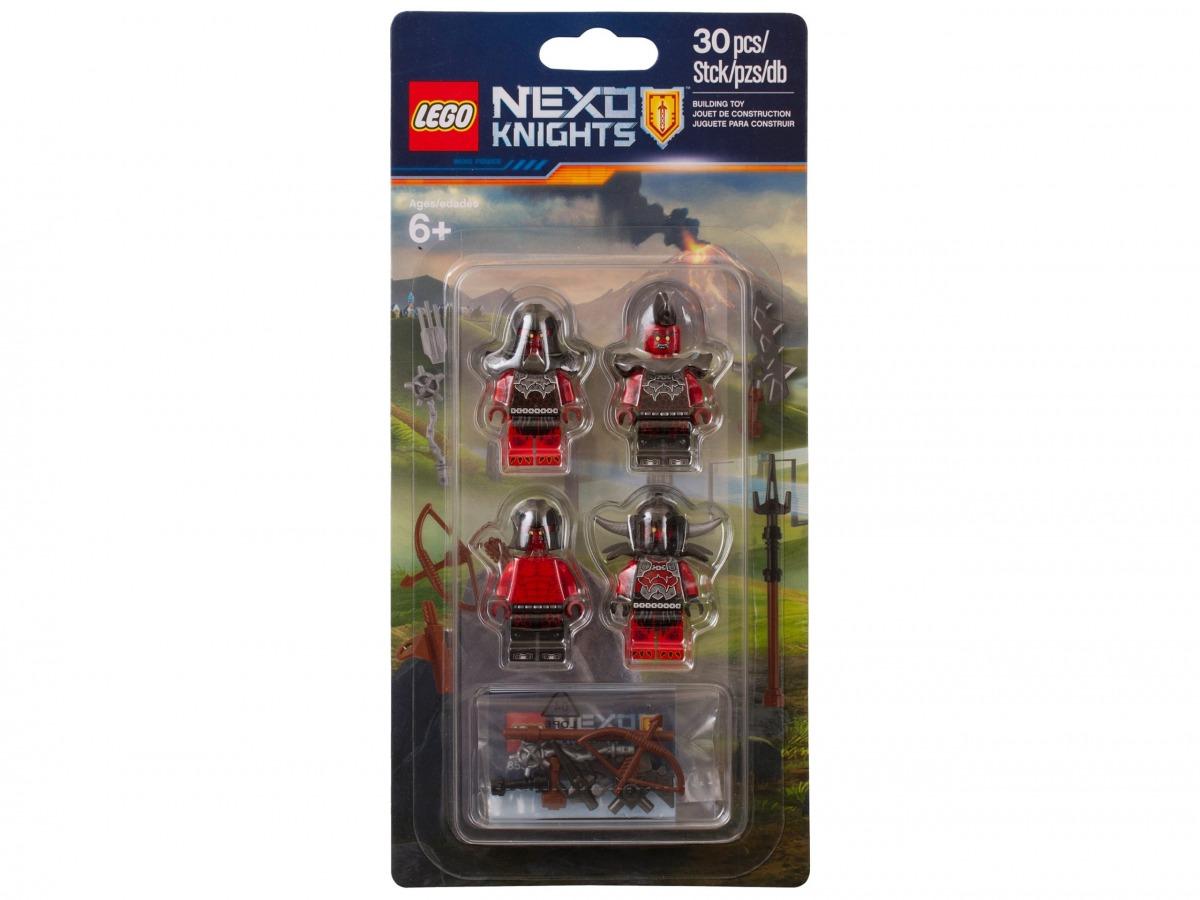 ensemble de construction armee de monstres lego 853516 nexo knights scaled