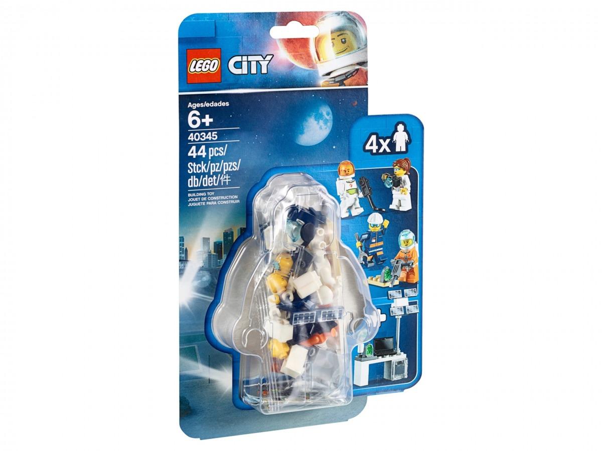 ensemble lot de figurines lego 40345 city scaled