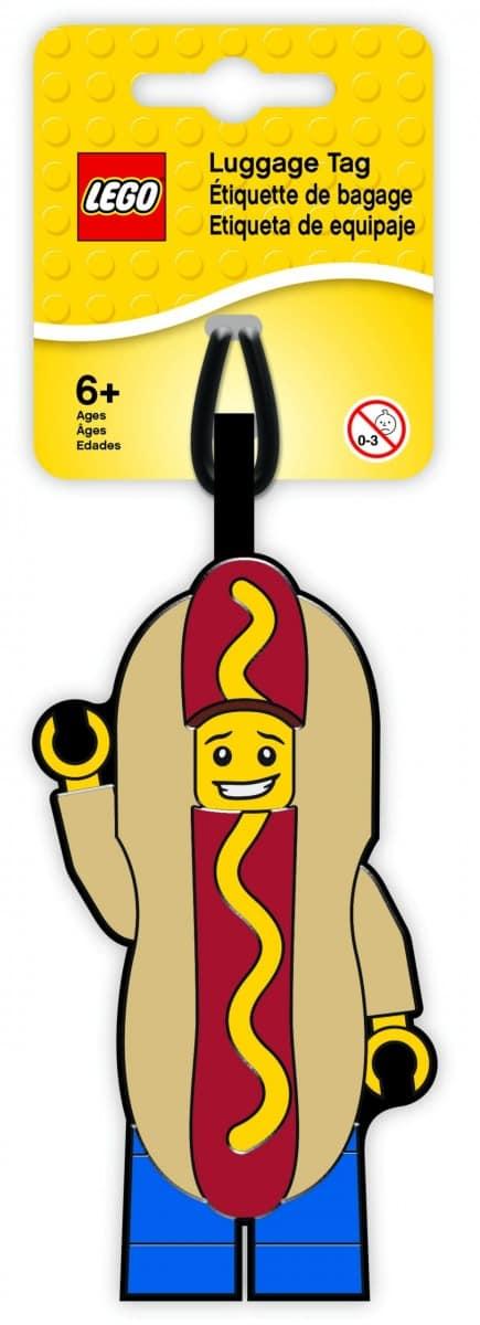 etiquette de bagage homme hot dog lego 5005582 scaled