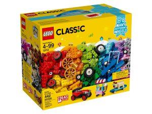 la boite de briques et de roues lego 10715