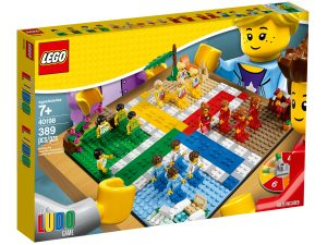 le jeu des petits chevaux lego 40198