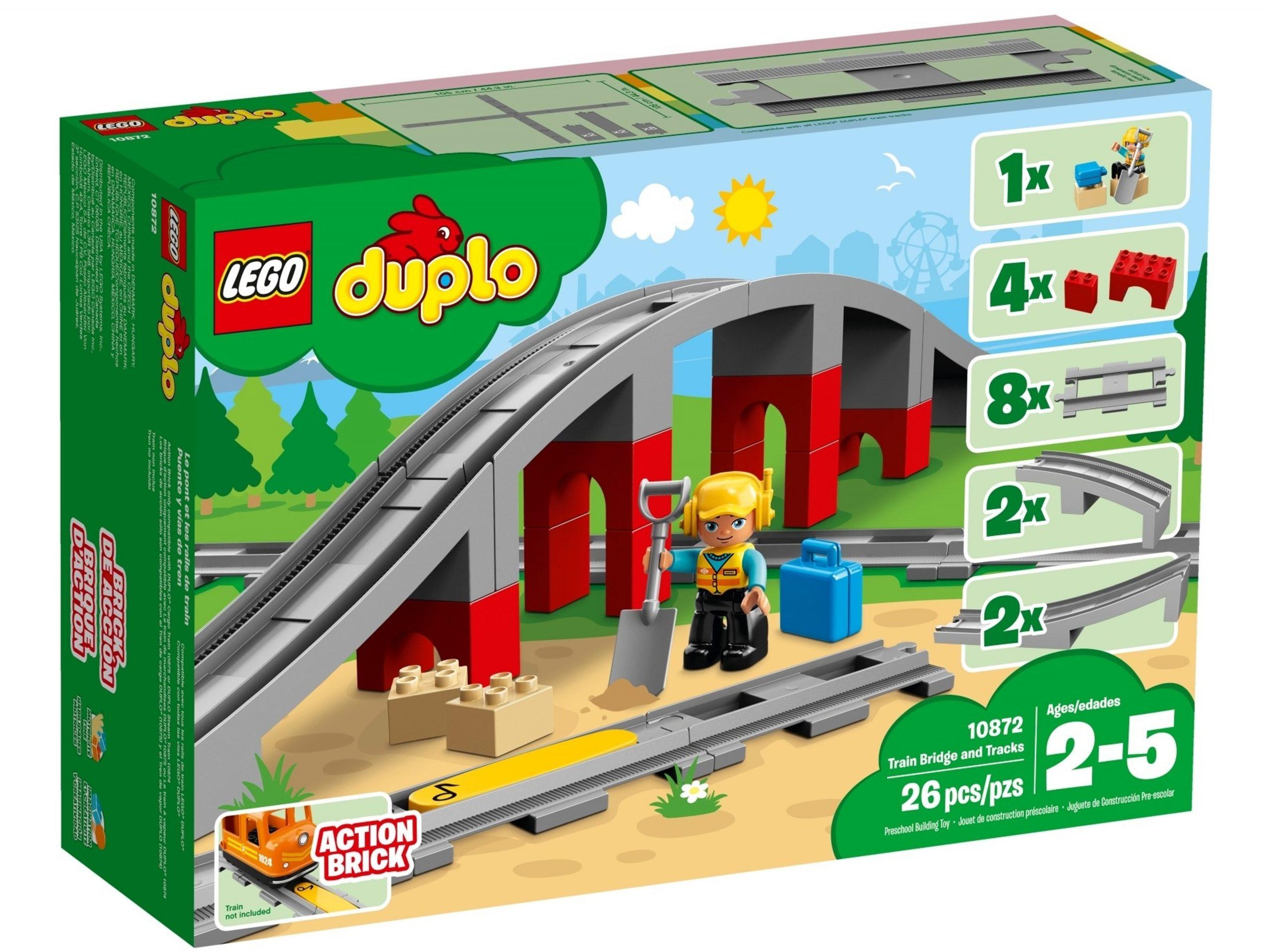 lego 10872 les rails et le pont du train scaled