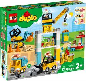 lego 10933 la grue et les engins de construction