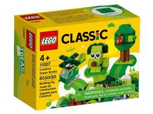 lego 11007 briques creatives vertes