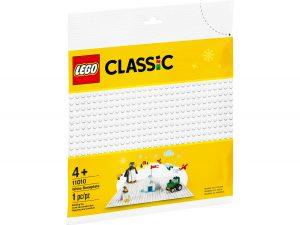 lego 11010 la plaque de base blanche