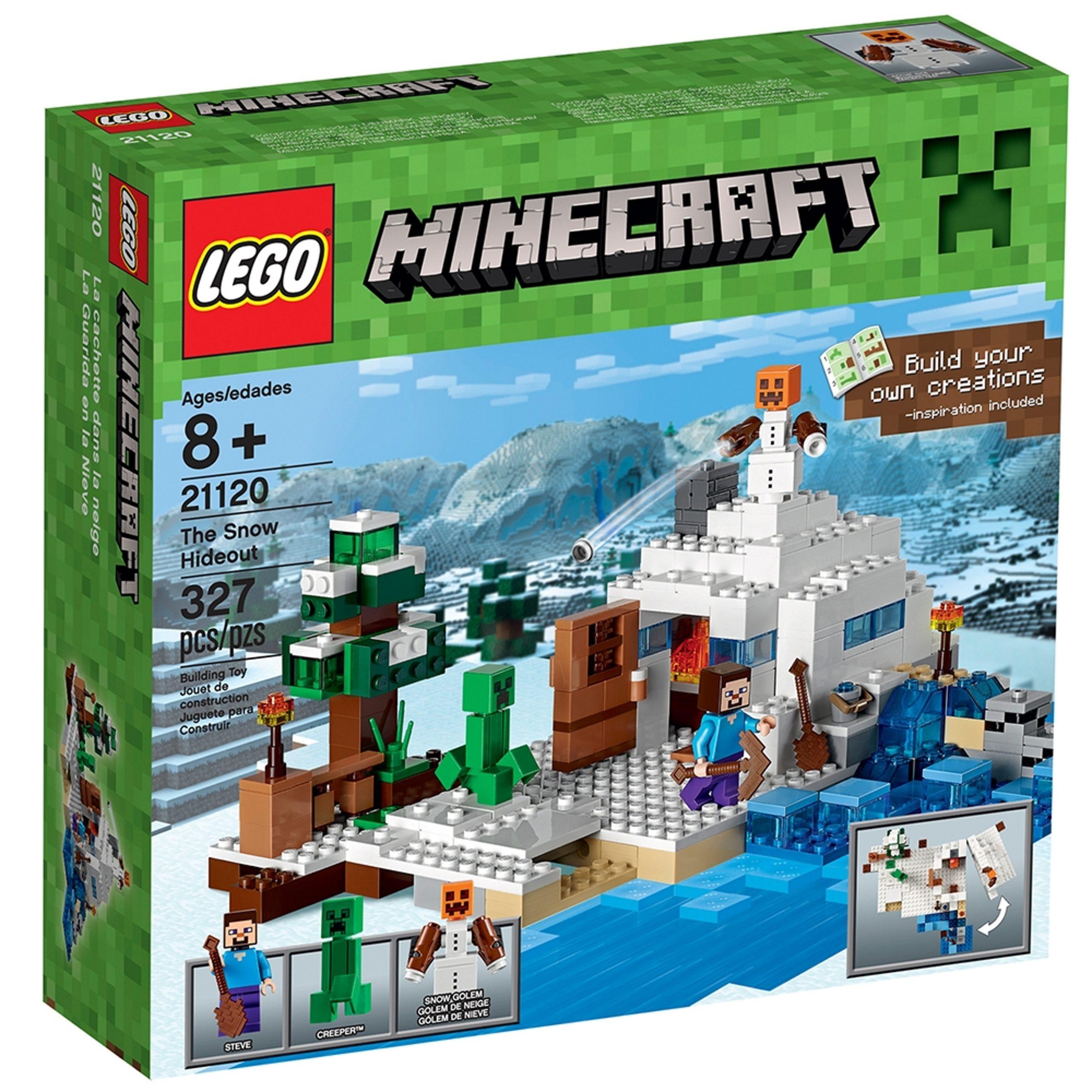 lego 21120 la cachette dans la neige scaled