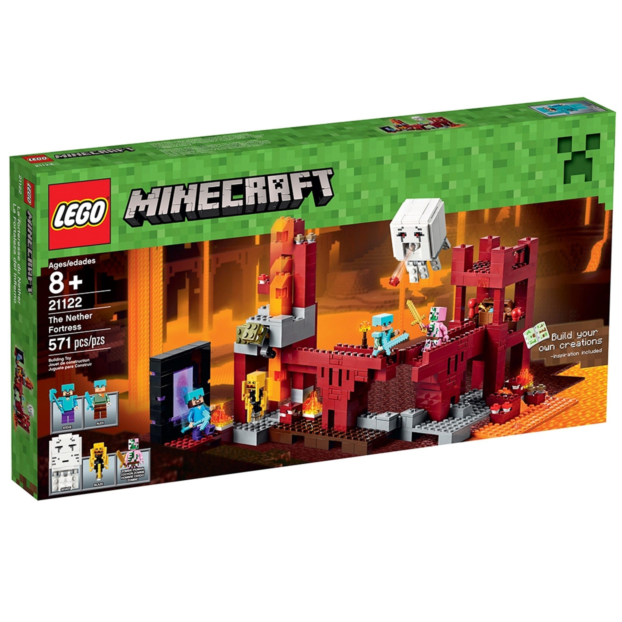 lego 21122 la forteresse du nether scaled