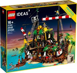 lego 21322 les pirates de la baie de barracuda