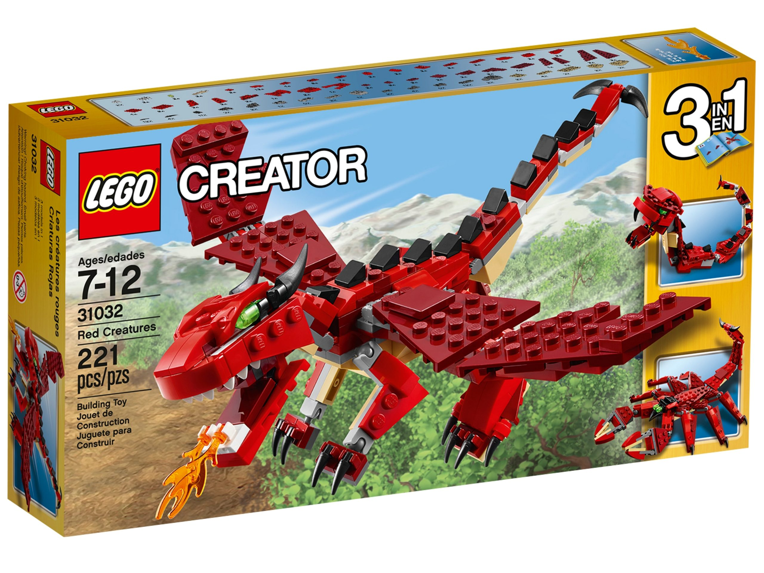 lego 31032 les creatures rouges scaled