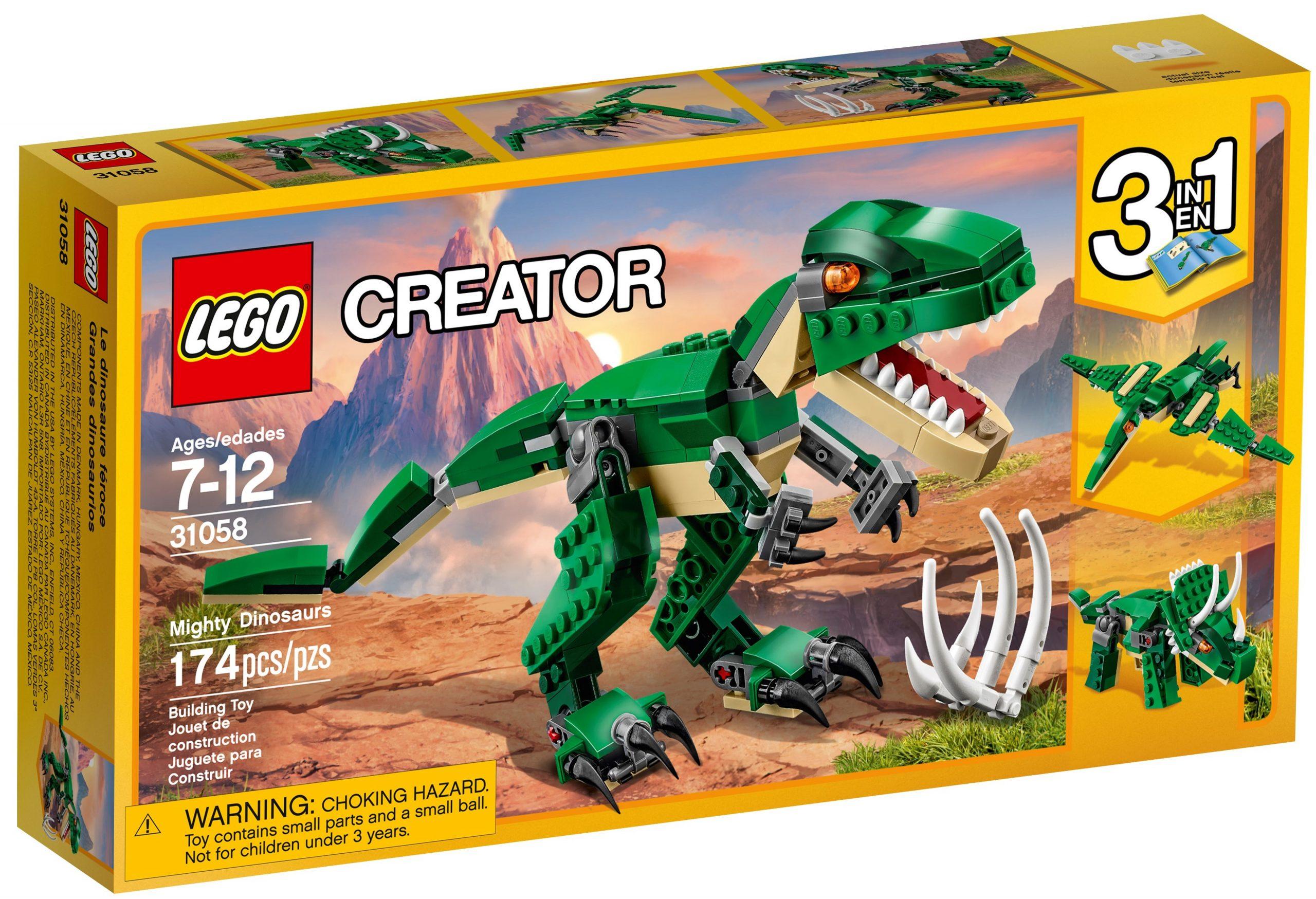 lego 31058 le dinosaure feroce scaled