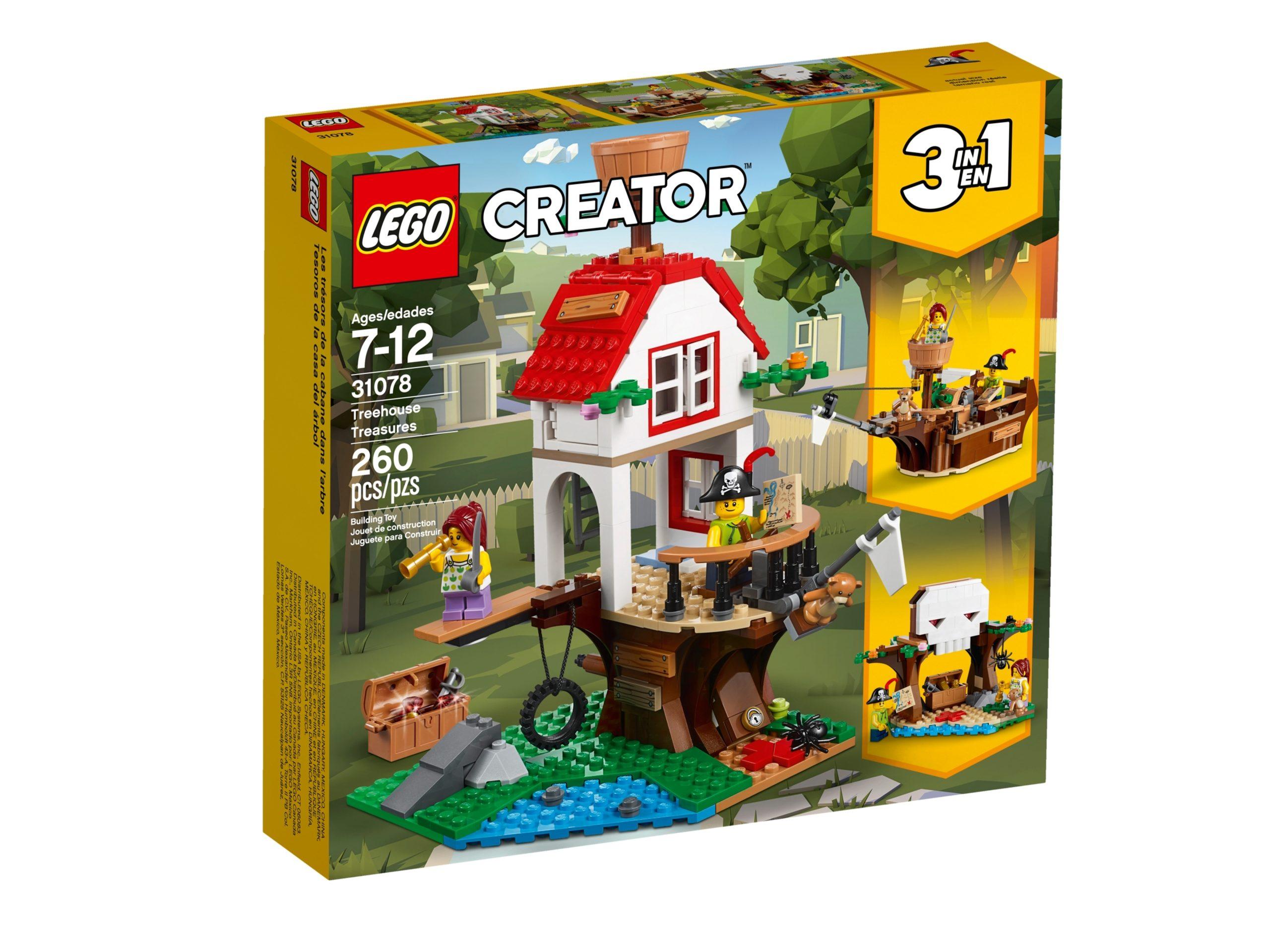 lego 31078 les tresors de la cabane dans larbre scaled