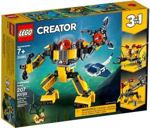 lego 31090 le robot sous marin