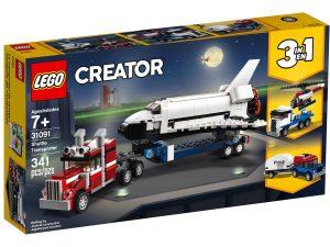 lego 31091 le transporteur de navette