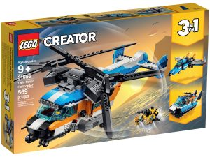 lego 31096 lhelicoptere a double helice