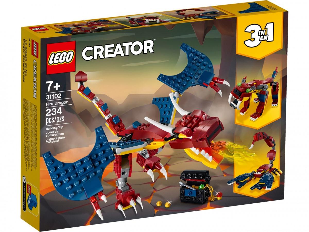 lego 31102 le dragon de feu scaled