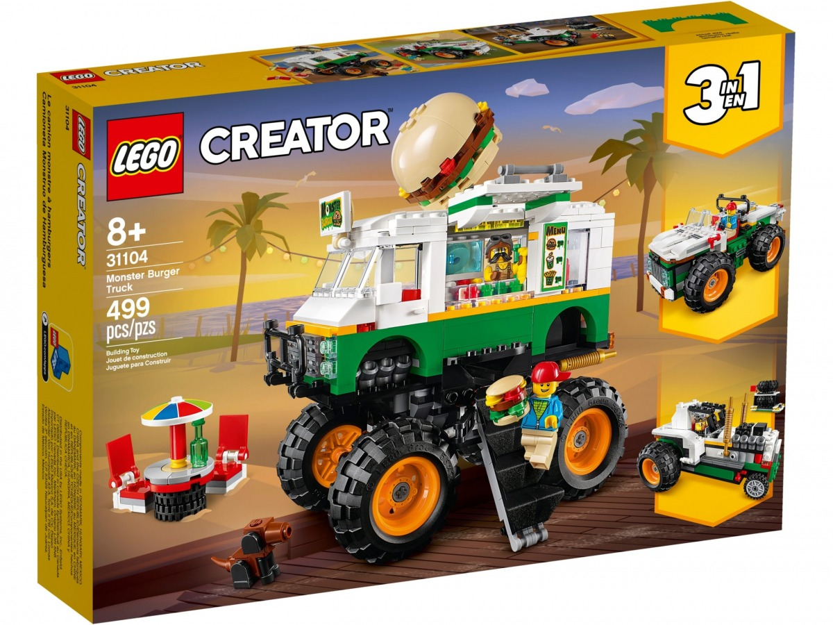 lego 31104 le monster truck a hamburgers scaled