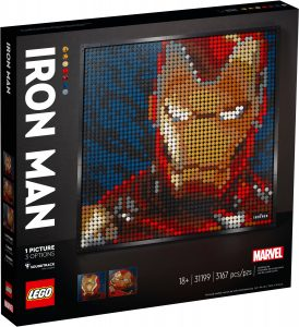 lego 31199 iron man de marvel studios