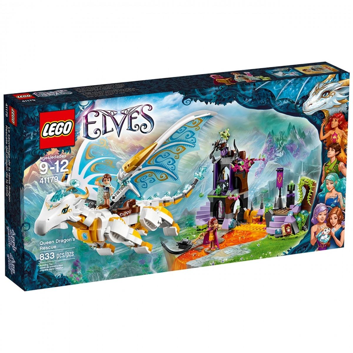 lego 41179 le sauvetage de la reine dragon scaled