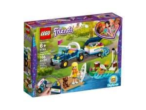 lego 41364 le buggy et la remorque de stephanie