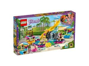 lego 41374 la soiree piscine dandrea