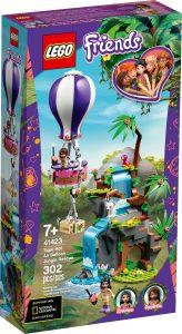 lego 41423 le sauvetage des tigres en montgolfiere