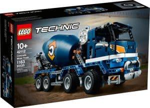 lego 42112 le camion betonniere
