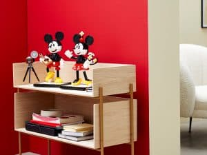 lego 43179 personnages a construire mickey mouse et minnie mouse