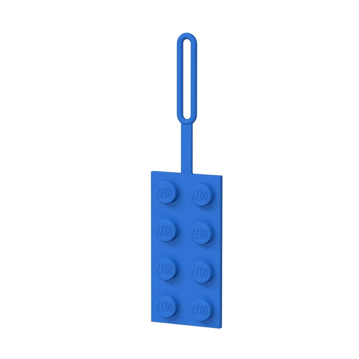 lego 5005543 etiquette de bagage bleue 2x4 scaled
