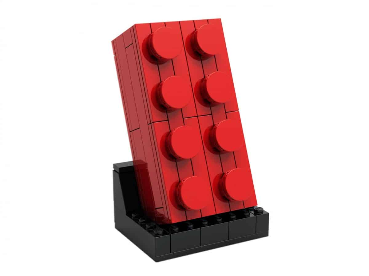 lego 5006085 ensemble brique rouge 2x4 a construire scaled