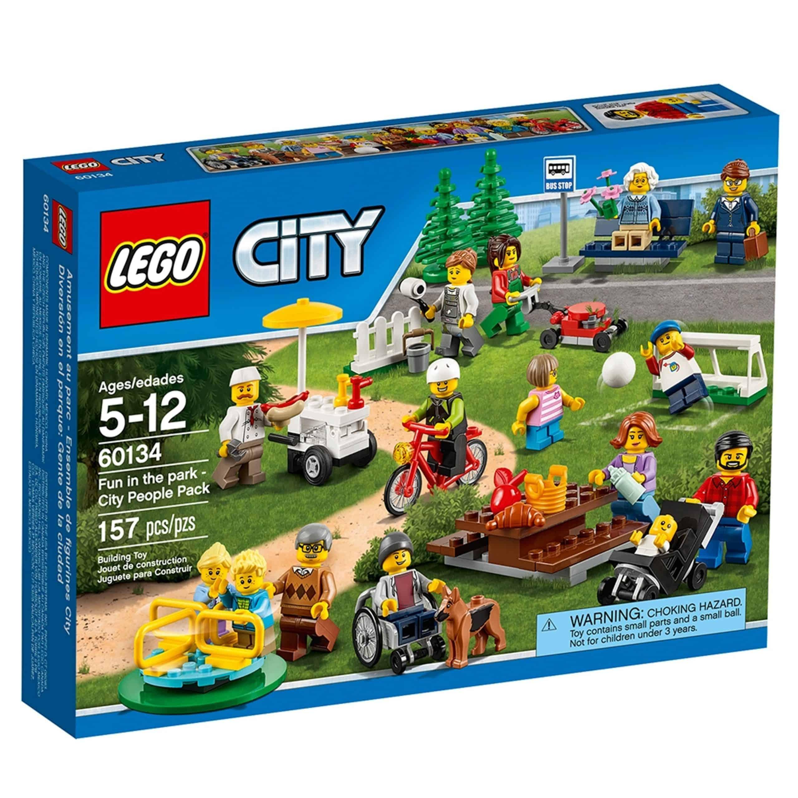lego 60134 le parc de loisirs ensemble de figurines city scaled