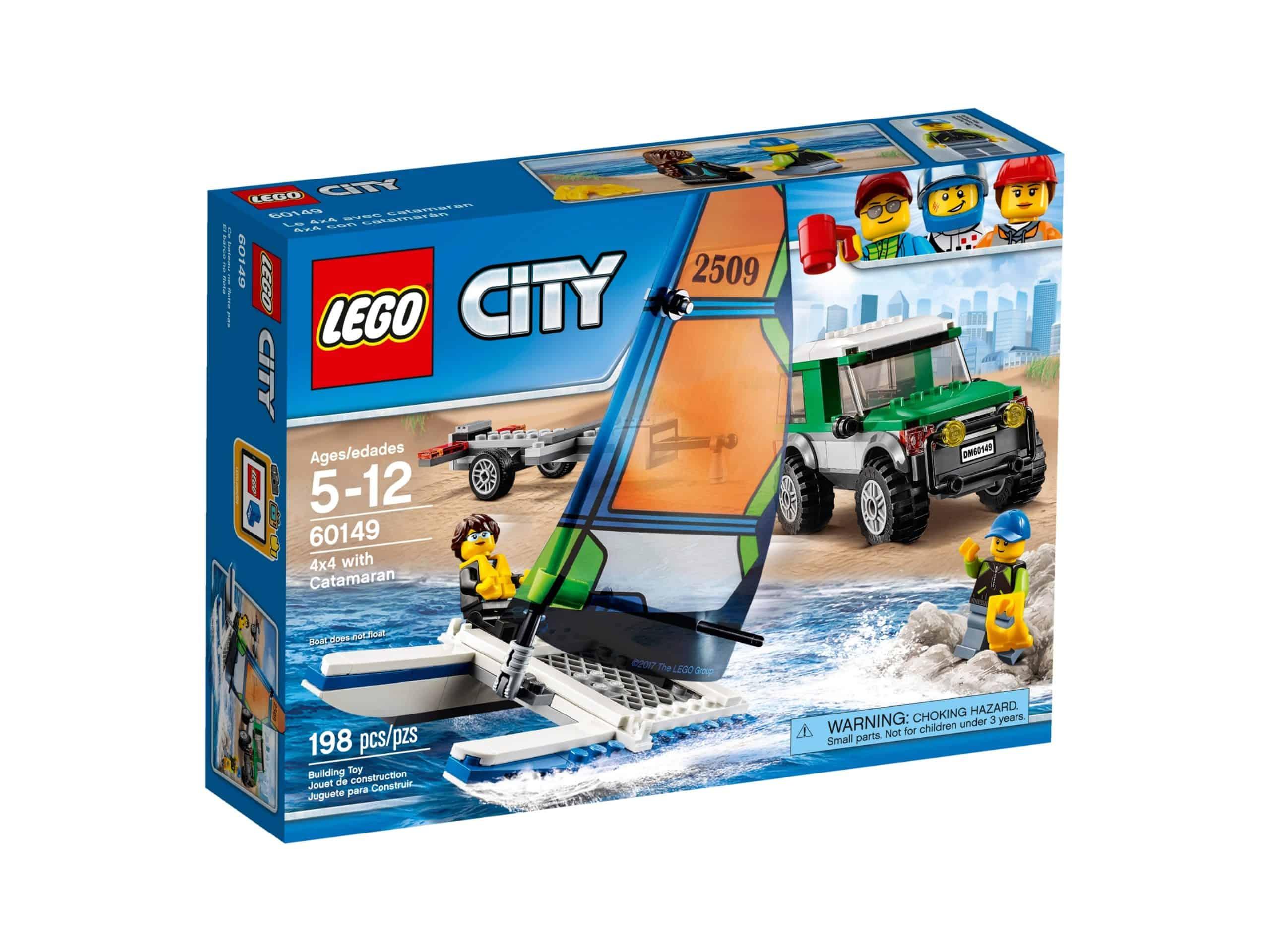 lego 60149 le 4x4 avec catamaran scaled