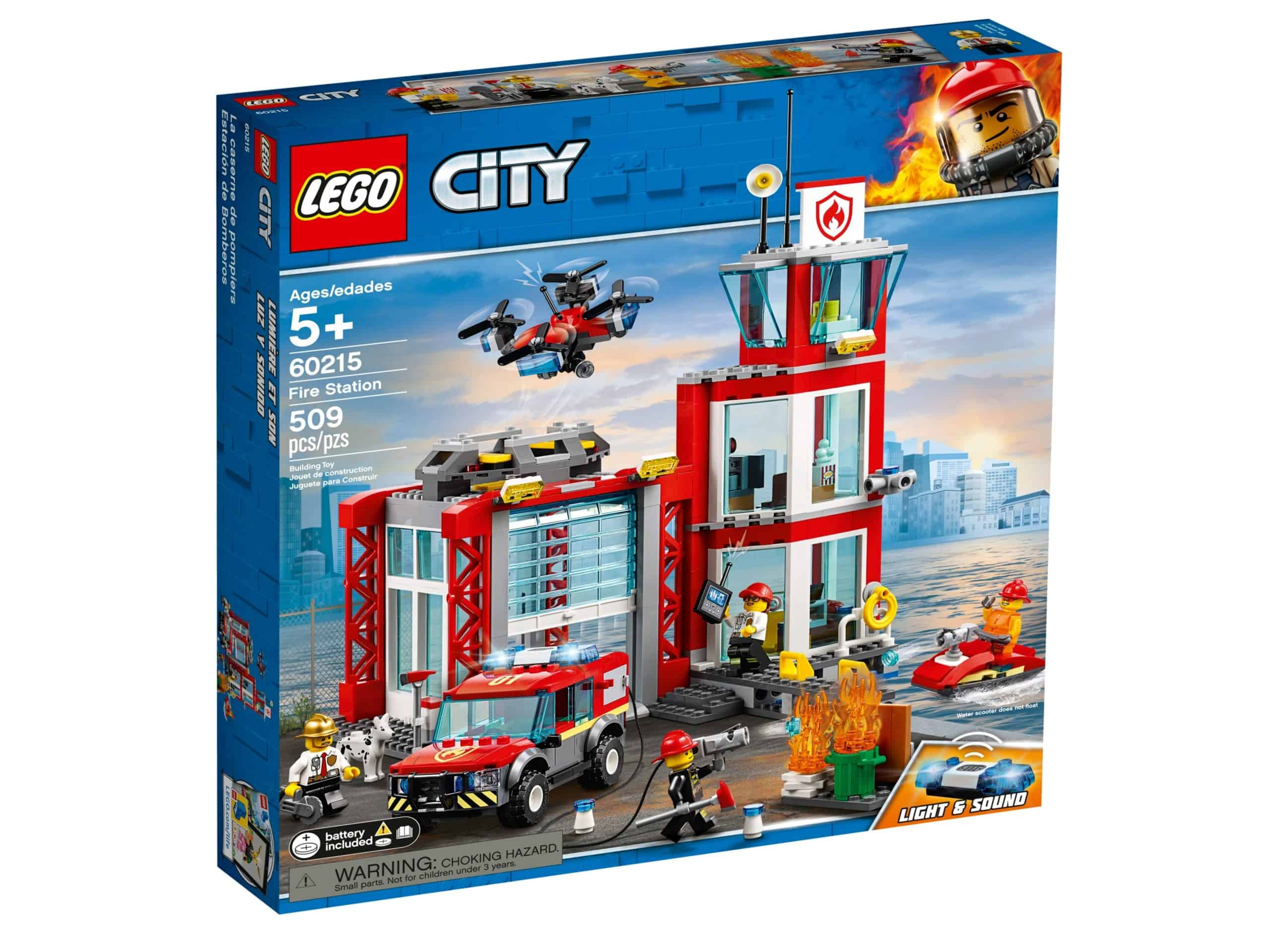 lego 60215 la caserne de pompiers scaled
