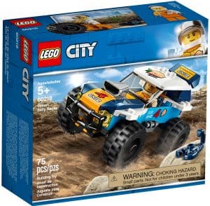 lego 60218 la voiture de rallye du desert
