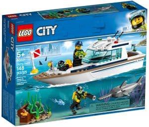 lego 60221 le yacht de plongee