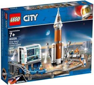 lego 60228 la fusee spatiale et sa station de lancement