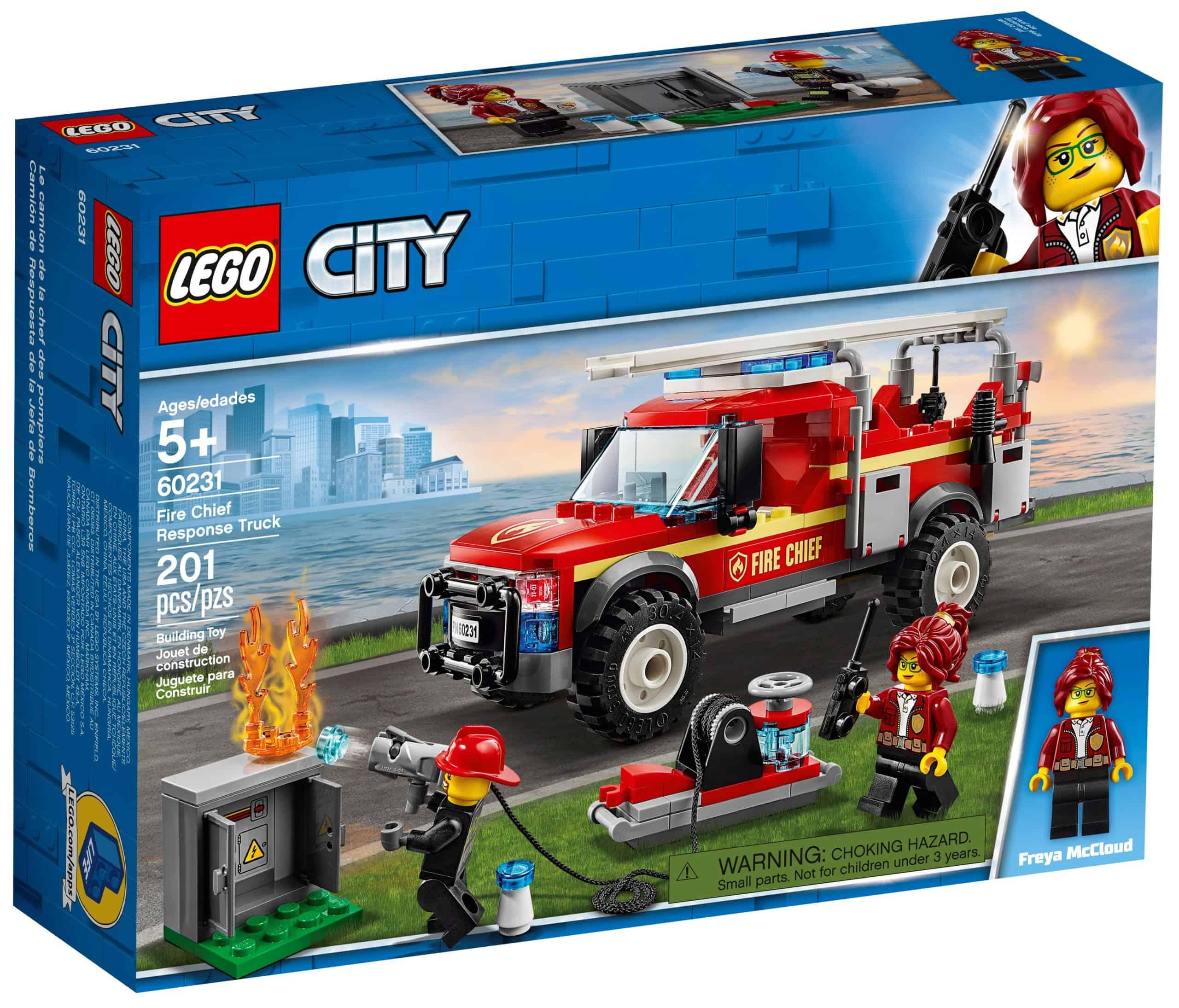 lego 60231 le camion du chef des pompiers scaled