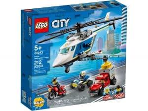 lego 60243 larrestation en helicoptere