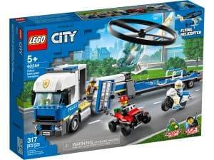 lego 60244 le transport de lhelicoptere de la police