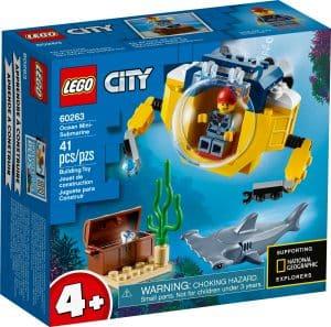 lego 60263 le mini sous marin
