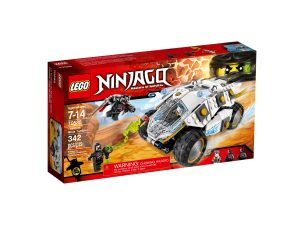 lego 70588 le tumbler du ninja de titane