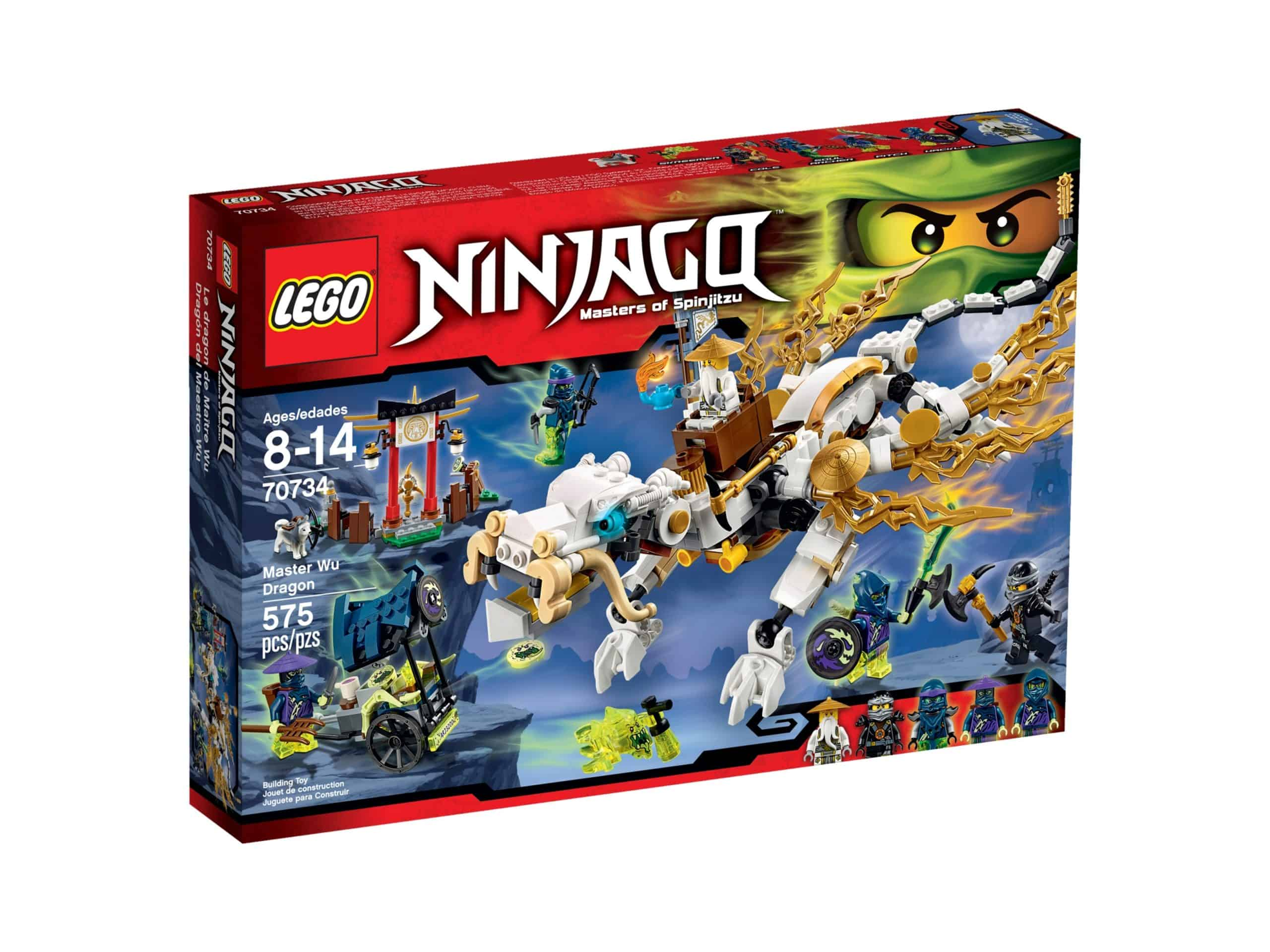 lego 70734 le dragon de maitre wu scaled