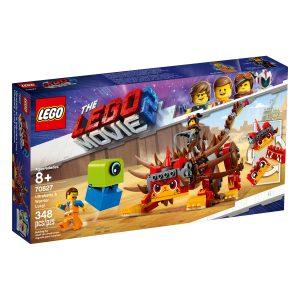 lego 70827 ultrakatty et la guerriere lucy