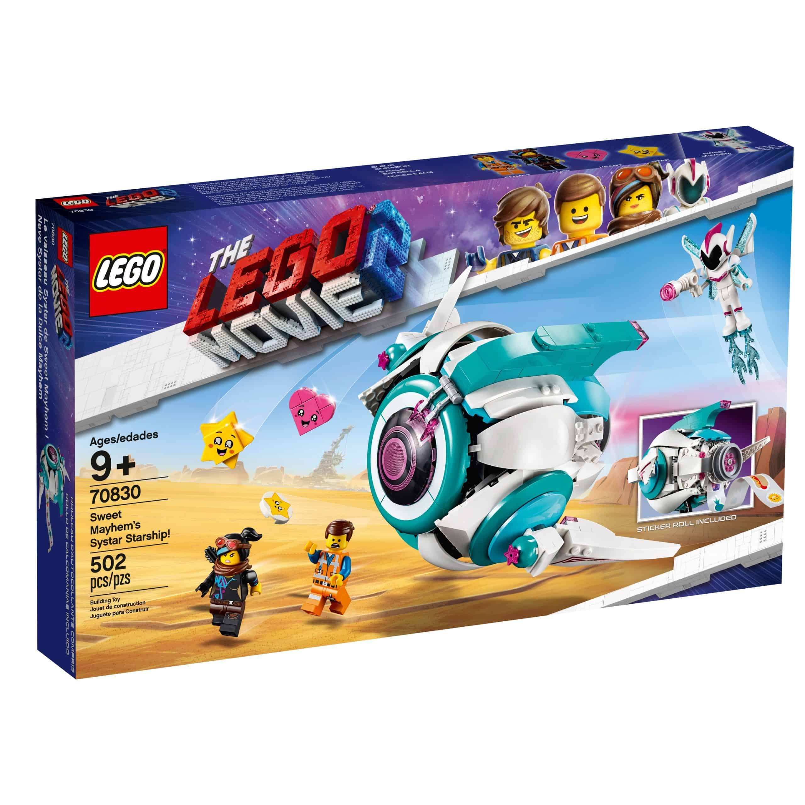 lego 70830 le vaisseau spatial systar de sweet mayhem scaled
