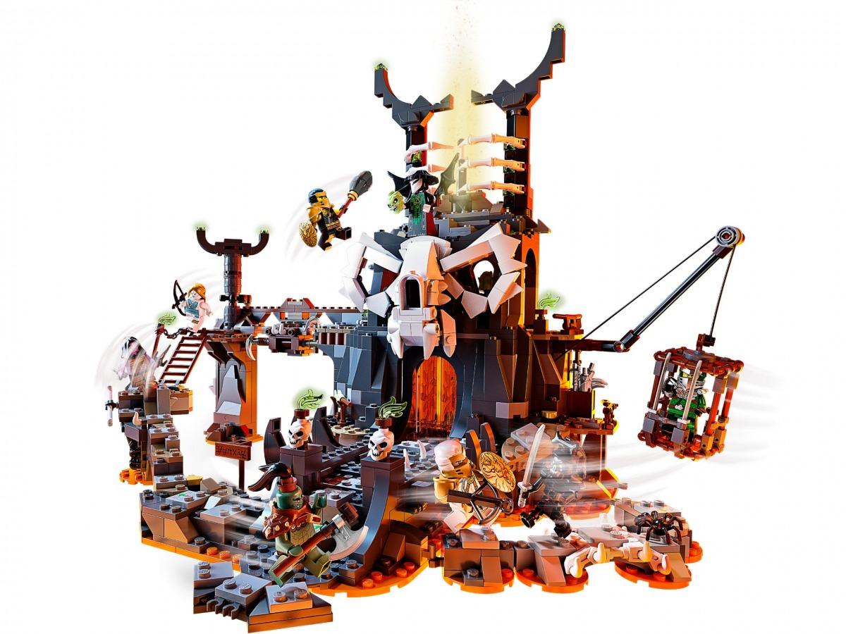lego 71722 le donjon du sorcier au crane scaled