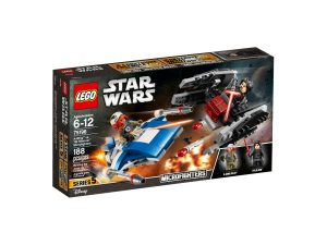 lego 75196 microfighter a wing vs silencer tie