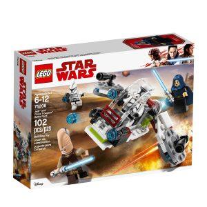 lego 75206 pack de combat des jedi et des clone troopers